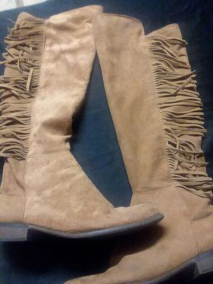 Fringe boots for Sale in Roseville, CA