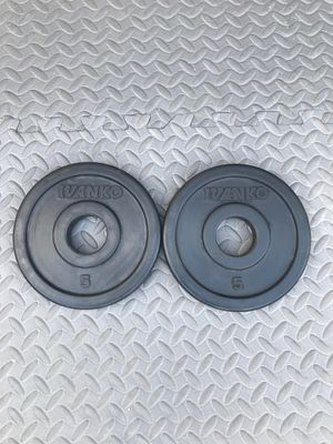Rubber Bumper Weight Plates 10 lbs for Sale in Johns Creek, GA