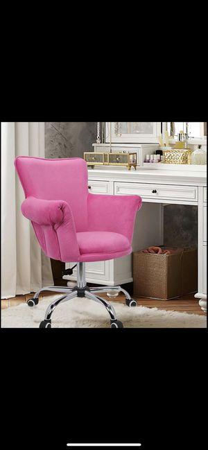 Hot pink Vanity chair💖 for Sale in Riverside, CA