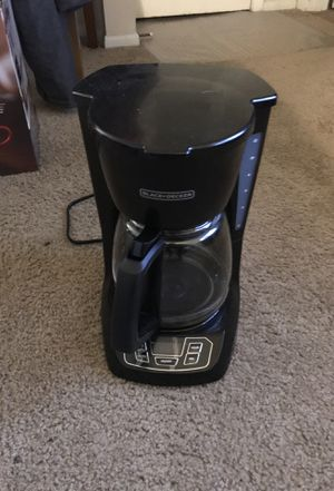 Black & Decker Coffee Maker for Sale in Tampa, FL