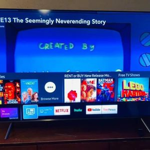 READ! $600 | Samsung QN65Q65FN 4K TV QLED 65 inch for Sale in Compton, CA