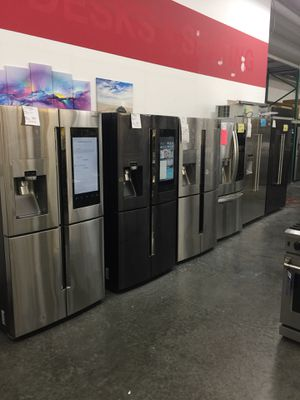 Samsung Refrigerator 60-80% OFF MSRP BELOW WHOLESALE for Sale in Chino, CA