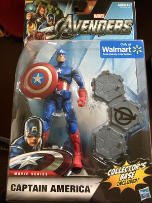 Captain America avengers action figure for Sale in Coppell, TX