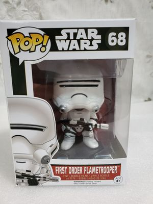 Funko POP Star Wars - First Order Flametrooper for Sale in Santa Fe Springs, CA