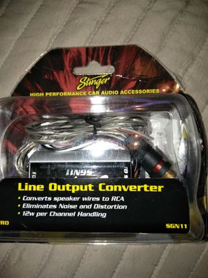Line output converter for Sale in Hialeah, FL
