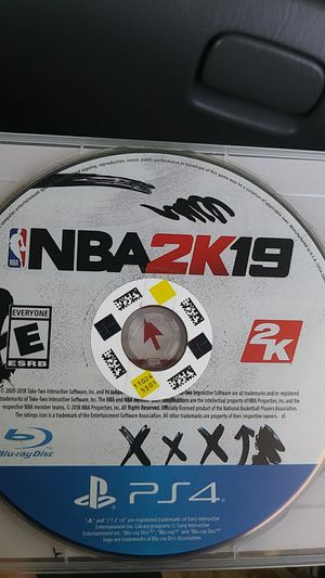 NBA 2K19 PS4 for Sale in Romoland, CA