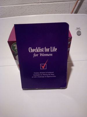 Checklist For Life For Women for Sale in Steubenville, OH