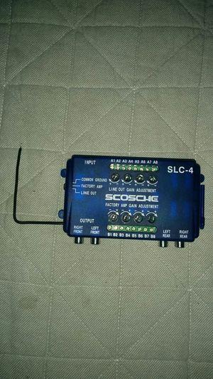 Scosche SLC-4 speaker level converter for Sale in Waldorf, MD