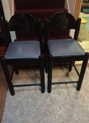 """Bar stools 25"""" (counter height) $20 for both for Sale in Taunton, MA"""