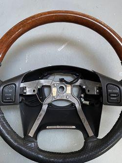 Jeep Overland Steering Wheel. Fits XJ, TJ, WJ for Sale in Woodbridge,  VA