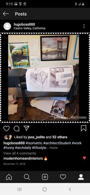 Plotter HP printer print color for Sale in Pittsburg, CA