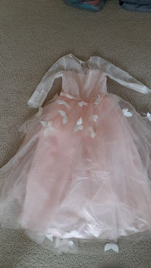 Size 7-8 butterfly flower girl dress for Sale in Wesley Chapel, FL