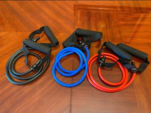 Resistence bands set for Sale in Miami, FL