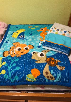 Finding Nemo crib bedding set for Sale in Pflugerville, TX