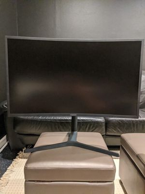 """Samsung 27"""" curved gaming monitor for Sale in Redmond, WA"""