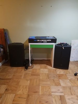 Dj music equipment for Sale in Annandale, VA
