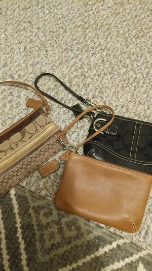 Coach wristlets in amazing condition for Sale in Denver, CO