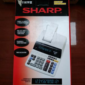 Sharp Electronic Printing Calculator for Sale in Riverside, CA