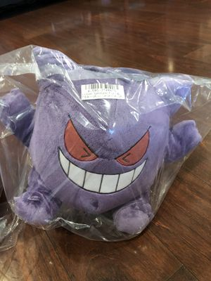 Official licensed Gengar Pokémon Plushy for Sale in Castro Valley, CA