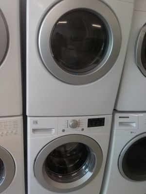 Kenmore washer and Samsung dryer used good condition 90days warranty for Sale in Mount Rainier, MD