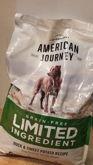 American Journey Duck & Sweet Potato 24lb Dog Food for Sale in Miami, FL