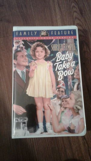 Shirley Temple Baby Take a Bow. VHS. Used. for Sale in Los Angeles, CA