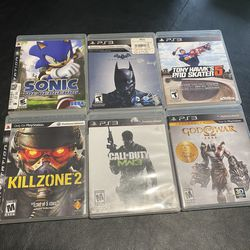 Sony PlayStation 3 PS3 Bundle Lot of 6 Video Games for Sale in Tacoma,  WA