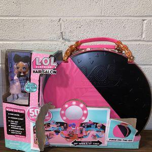 Lol Surprise Hair Salon W/50 Surprises exclusive Mini Doll * Damaged Box * for Sale in Houston, TX
