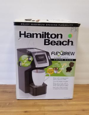 Hamilton Beach FlexBrew Single-Serve Coffee Maker - 49952 for Sale in Marietta, GA