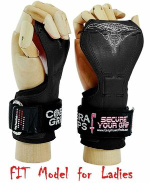 Cobra Grips FIT FOR LADIES! Weight Lifting Gloves Heavy Duty Straps Alternative for Sale in Las Vegas, NV