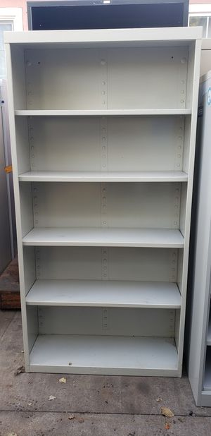 Metal storage cabinet book shelve for Sale in Fullerton, CA