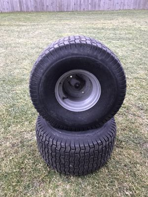 2 20x10x8 Tires and Rims for Sale in Concord, MA