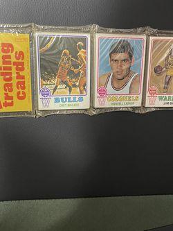 1973-74 Topps Basketball Rack Pack for Sale in Baldwin Park,  CA