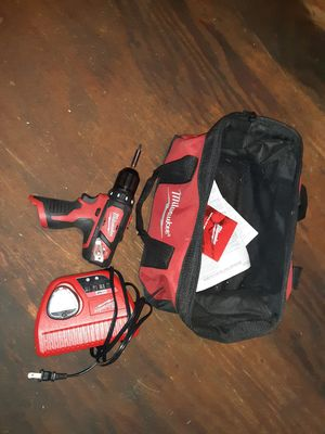 Brand new Milwaukee drill with battery and charger for Sale in Trinity, NC