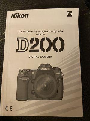 Nikon D200 for Sale in Lutz, FL