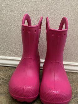 Crocs Kids' Handle It Rain Boots for Sale in Redmond,  WA