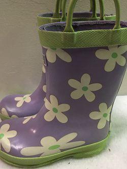 Toddler girls size 5 Hatley rain boots for Sale in Berwyn,  IL