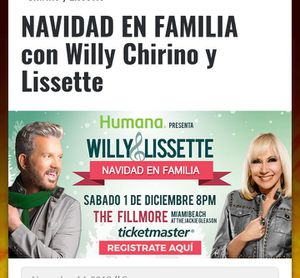 Willy chirino..Navidades en familia for Sale in Hialeah, FL