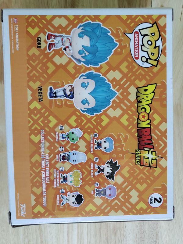 Dragonball Z Super 2 pack Goku & Vegeta Baseball