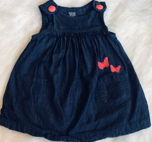 Carter's Denim Butterfly Dress *3 Months for Sale in Gresham, OR