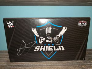 Signed Wwe shield action figures. for Sale in Houston, TX