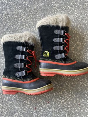 Sorel - kids size 3 snow boots for Sale in Los Angeles, CA