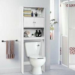 Bathroom Wood Organizer Shelf Storage Rack With Cabinet HW61894 for Sale in Rosemead,  CA