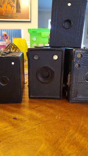 Four Antique Box Cameras for Sale in Chandler, AZ