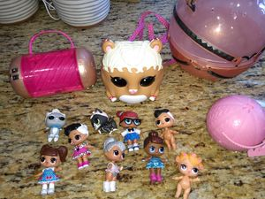 Big bag of LOL dolls and accessories. for Sale in Redlands, CA