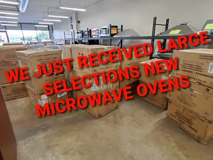 LARGE SELECTION NEW MICROWAVES for Sale in Kennewick, WA