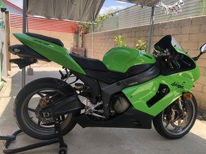2005 Kawasaki ZX6R for Sale in Vernon, CA