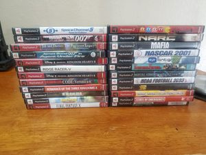 Playstation 2 games: Kingdom Hearts, Final Fantasy, Resident Evil, Metal Gear Solid for Sale in Austin, TX