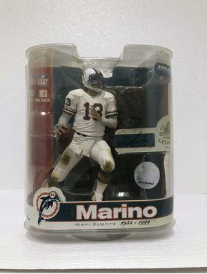 Dan Marino McFarlane NFL Legends Series 3 Dolphins Action Figure for Sale in Rowlett, TX