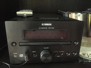Yamaha Stereo CD Player plus remote controls and infrared receiver (operates from another room) for Sale in North Miami, FL